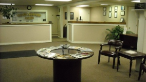 Office & Customer Waiting Area