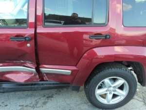 Red Jeep - before