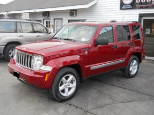 Red Jeep - after